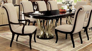 shilpi handmade luxury wooden standard 8 seater dining table set home decor