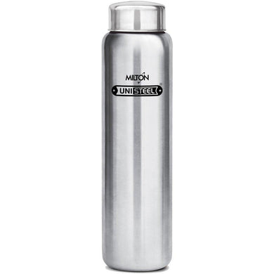 Milton Aqua Stainless Steel Fridge Water Bottle 930ml, Silver