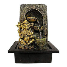 Load image into Gallery viewer, ART N HUB Lord Ganesh Indoor Fountain Showpiece with Flowing Water for Home Decorative Table Top - Home Decor Lo