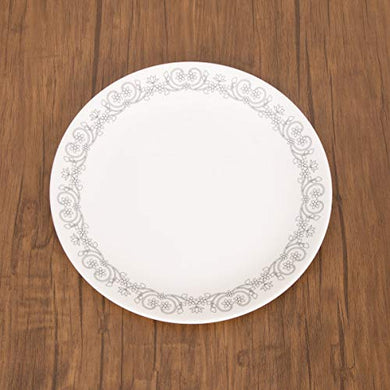 Home Centre Silvano-Nordic Printed Dinner Plate - White