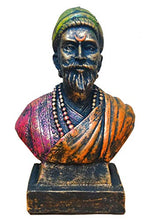 Load image into Gallery viewer, Karigaari India Handcrafted Polyresin The Great Maratha Warrior-King ChhatraPati Shivaji Maharaj Sculpture | Showpiece for Decoration Items for Home - Special Shiv Jayanti Gift Purpose.
