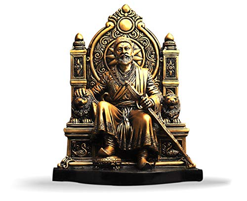 SAIDIVYA Shri Chhatrapati Shivaji Maharaj Statue/Idol/Handicraft Idol for Home Decor.
