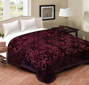 Ultra Soft Luxurious Embossed Double Korean Mink Blanket - Home Decor Lo