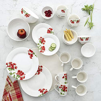 Home Centre Pristine-Volga Floral Print 32-Piece Dining Set