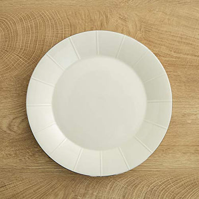Home Centre Bliss Dinner Plate - White