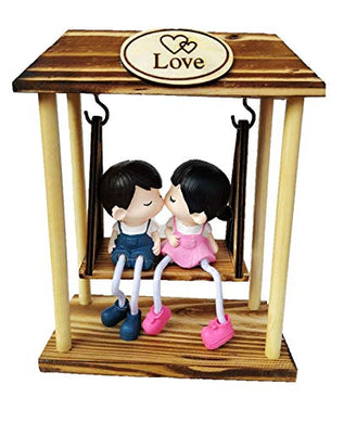 MonkFest-Romantic Couple Swing-Valentine Gifts, Gift for Boyfriend, Girlfriend, Husband, Wife.