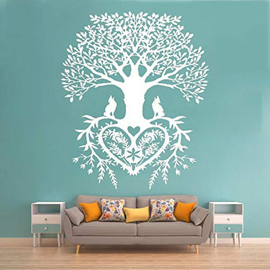 Gadgets Wrap Tree of Life Wall Stickers Decal Tribal Circle of Life Roots, AG20-DRP-2740