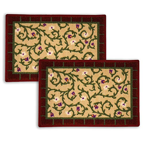 Floor Art Doormat Loop Pile Anti-Skid Bath Mat, Design Door mat for Home Size 22