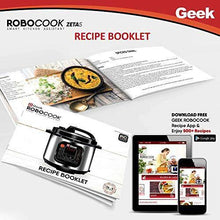 Load image into Gallery viewer, Geek Robocook Zeta 5 Litre Electric Pressure Cooker with Non Stick Pot, Black