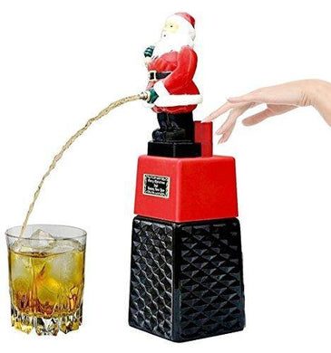BARRAID Santa Claus Liquor/Whisky/Wine/Vodka Dispenser/Decanter Battery Operated for Bar/Pubs/Party/Home (Capacity 500 ml) - Home Decor Lo
