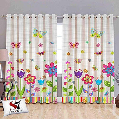 S7 Creative® Kid Room 3D Digital Print Curtains for Living Room, Bed Room Curtains Designer for Home (1, Window 4 x 5) - Home Decor Lo