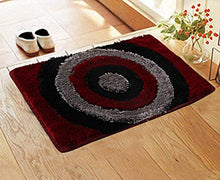 "Load image into Gallery viewer, Kuber Industries Soft Cotton Blend Anti Slip Door Mat 16""x24""(Maroon) -CTLTC11399"