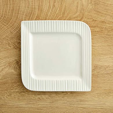 Home Centre Alamode Ripple Side Plate - 7 Inch - White