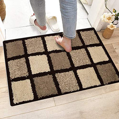 Modern Fab Pure 100% Cotton Bathmats, Door Mats 50x80 cm, 20X30 Inch (Design-001)