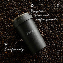 Load image into Gallery viewer, Scarters 13 oz/380 ml Leak Proof Coffee Sipper/Tumbler for Office/Travel/Business/Casual use – Portable, Eco-Friendly, Recycled from Coffee Grounds