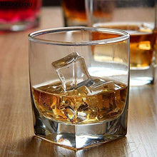 Load image into Gallery viewer, VILON Stylish and Elegant Old Fashioned Crystal Whiskey Glass Set (Whiskey Glasses, 300 ML) PS-37 (4) - Home Decor Lo