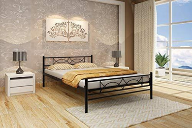 Homdec Columba Metal Double Bed