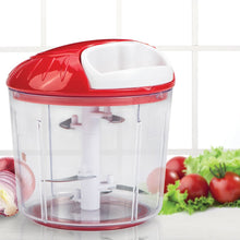Load image into Gallery viewer, Wonderchef Plastic Chopper, Red/White