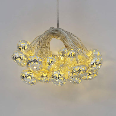 Home Centre Serena Floral String Light- 10 Bulbs- Small