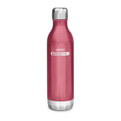 Milton Bliss 900 Thermosteel Water Bottle, 820 ml (Red)