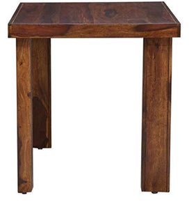 Sheesham Wood Dining Table with 2 Chairs for Living Room | Teak Finish - Home Decor Lo