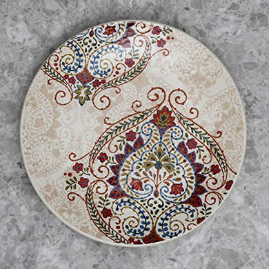 Home Centre Altius Olina Dinner Plate - Beige