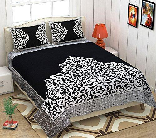 Premium Chenille bedsheets King Size, Size -Bedsheet- 230x250 cms, Pillow -45x70 cms(bedsheets for Double Bed)