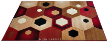 Load image into Gallery viewer, Moin Carpets Geometric Design Acrylic Wool Soft and Thick Carpet - Home Decor Lo
