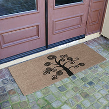 Load image into Gallery viewer, Rubber-Cal Deciduous Tree Modern Door Mat, 24 x 57