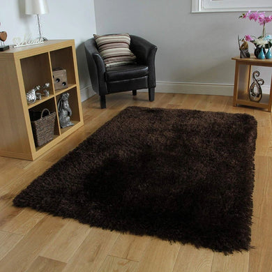 Carpet Super Modern Shag Area Silky Smooth Rug - Home Decor Lo