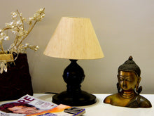 Load image into Gallery viewer, Tu Casa Conical Shade Table Lamp (Khadi) - Home Decor Lo