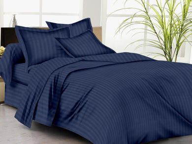 Trance Home Linen Premium Cotton 210 TC Single Fitted Bedsheet 78