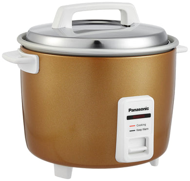 Panasonic SR-W18GH 270-Watt Automatic Cooker Warmer Combo Gift Pack (Gold)