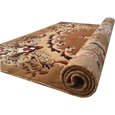 Floral Design Velvet Touch Carpet for Living Room and Home - Home Decor Lo