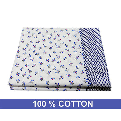 Unique Palette Cotton Combo of Top Bed Sheets: Pair of 2 - Home Decor Lo