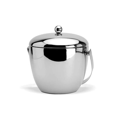 FnS Apple Double Walled Insulated Stainless Steel Ice Bucket - Home Decor Lo