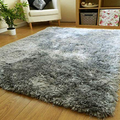 Zeff Furnishing Polyester Anti Slip Shaggy Fluffy Fur Rug - Home Decor Lo
