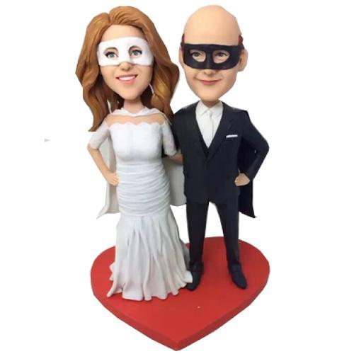 Mask Wedding Custom Bobblehead