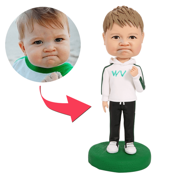 Cheer up Custom Bobblehead With Engraved Text