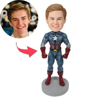 Captain America B Popular Custom Bobblehead