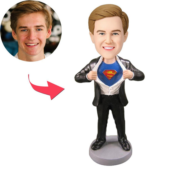 Superman Strip -  Custom Bobblehead
