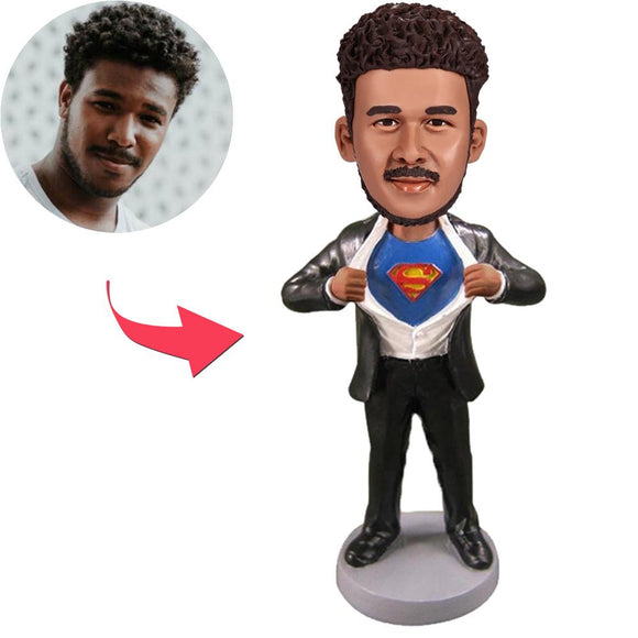 Superman Strip - E Custom Bobblehead