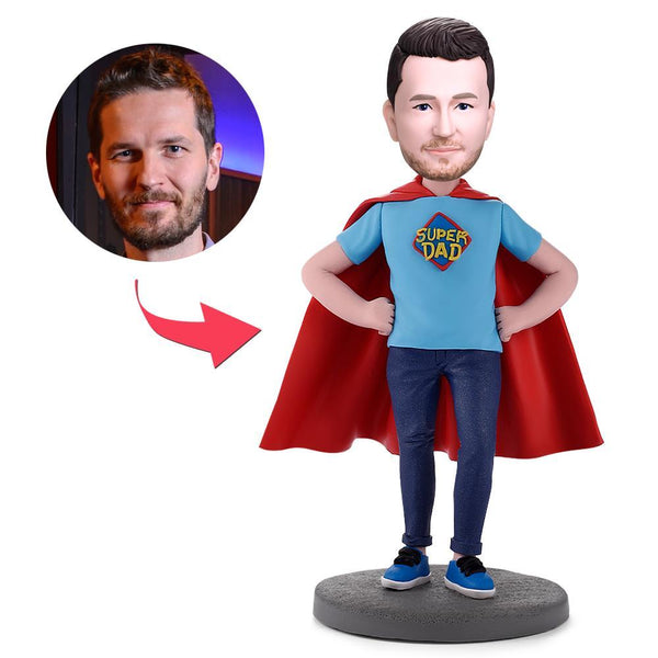 Super Dad Custom Bobblehead