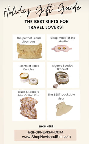 gift guide for travelers, gift ideas for travel lovers