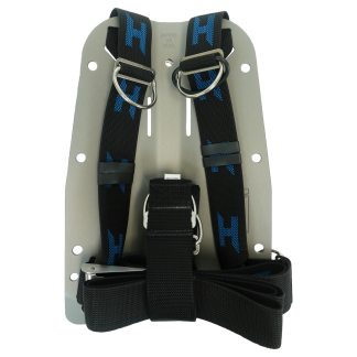 Aluminum Hardcoated Backplate and Harness