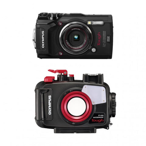 Olympus TG-5 & Underwater Housing PT-058