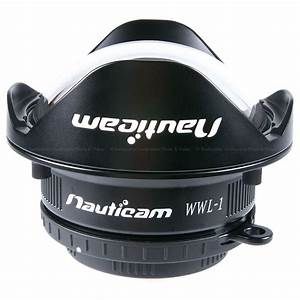 Wet Wide Lens 1 (WWL-1) 130 Deg. FOV With Compatible 28MM Lenses