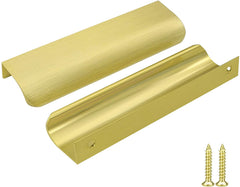 Homdiy Brass Drawer Pulls Black Cabinet Pulls Handles Kitchen Cabinet Hardware 6in Overall Length