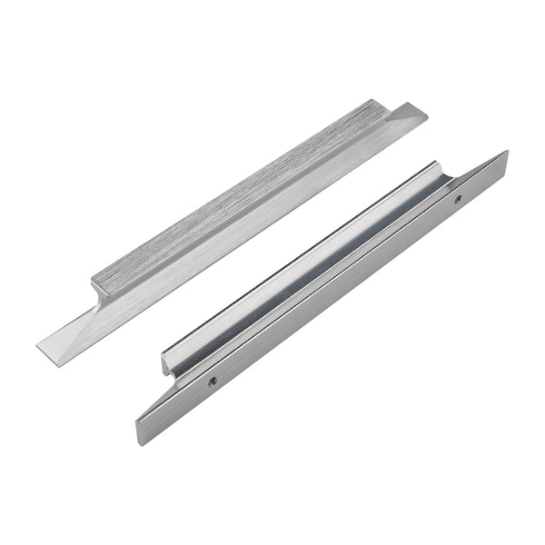 Homdiy Brushed Nicke Cabinet Pull Solid Aluminum Alloy Cabinet Handle