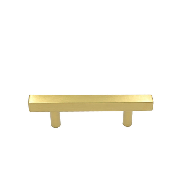Homdiy 3in Hole Centers Brushed Brass Drawer Pulls Gold Kitchen Hardware